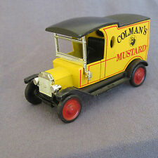 677D Matchbox Yesteryear Y-12 Ford T Colman's Mustard