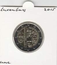 Luxemburg 2 euro 2015 UNC : Dynastie