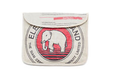 Elephant Brand Deluxe Recycled iPad Pouch with flap made in Cambodia Fair Trade