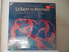 "CHARLES DUTOIT - LE SACRE DU PRINTEMPS - LONDON RECORDS-414 202-1 - ""SEALED"""