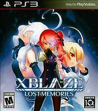 XBlaze Lost Memories Playstation 3 PS3 Game >Brand New - Fast Ship - In Stock<