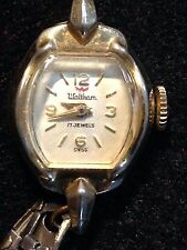 Vintage Waltham Ladies Watch 17 Jewel Swiss 10K Gold Filled for repair