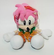 Sonic the Hedgehog AMY Plush GE Entertainment Classic Sega Animated Stuffed Toy