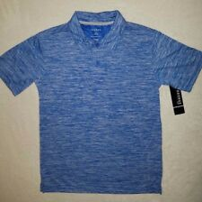 Boy's Polo Type Shirt-Blue & Off White-Size 10/12-Brand New with Tags-Nice!