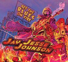 JAY JESSE JOHNSON - SET THE BLUES ON FIRE CD (Killer blues/rock guitar disc)