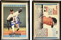 Matt Young Signed 1992 Donruss #635 Card Boston Red Sox Auto Autograph