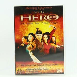 Hero DVD Zhang Yimou Jet Li Kung Fu Chinese Martial Arts Action DVD GC