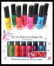 Nirvana Collection Fluorescent Nail Art Striper Pens Kit