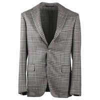 Belvest Soft-Constructed Layered Check Wool-Linen-Silk Sport Coat Slim 40R