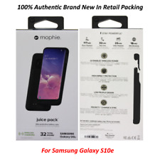 mophie Juice Pack External Battery Case for Samsung Galaxy S10e - 2000mAh Black