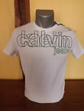 T shirt Calvin Klein Homme Ck52q Blanc S