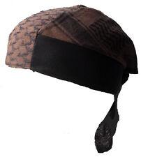 BABY PALI BANDANA Braun-schwarz Kopftuch