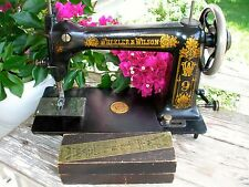 1887 Extremely EARLY & RARE Wheeler & Wilson No. 9, LOW SERIAL No. 2167,