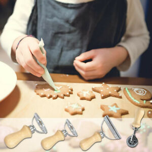 5styles Pasta Hand-Cutting Machine Embossed Dumpling Embossing cake gadget`