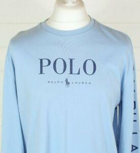Polo Ralph Lauren Long Sleeve T-Shirt M Custom Fit Smart UNISEX Autumn Winter