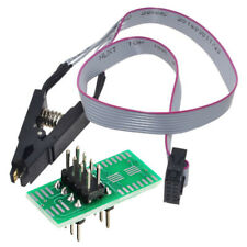 CH341A Burner Chip USB Programmer SOP Clip Adapter EEPROM BIOS FLASH Writer Kit