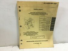Tm 5-4320-208-12&P. Maintenance for Pump, Centrifugal. Model 2-125-50-G. Reprint