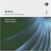 Brahms: German Folk Songs, Roger Vignoles, Stephan Genz, Very Good