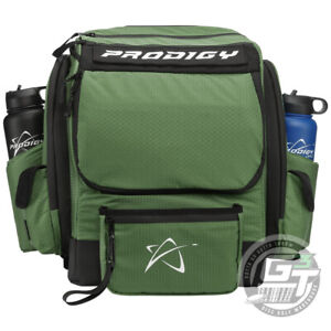 USED Prodigy Discs BP-1 V3 Backpack Disc Golf Bag Holds 20+ Discs - GREEN
