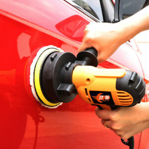600W Variable Speed Electric Car Buffer Polisher Polishing Detailing Waxing Tool