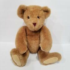 "Vermont Teddy Bear Company Plush Fully Jointed Stuffed Teddy 16"" 1994"