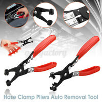 Car Pipe Flat Band Ring Hose Clamp Pliers Clip Swivel Jaw Removal Tool  !