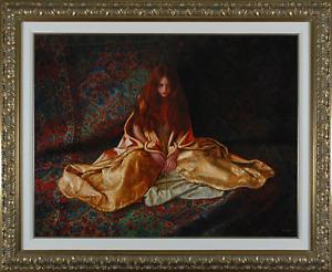 Douglas Hofmann - Alchemy, hand-signed digital pigment print on canvas, Framed
