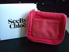 See by Chloe Cosmetic Bag Pinkish Color