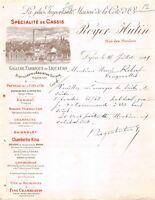 Ancienne lettre - Grande fabrique de liqueurs Royer-Hutin - 1909
