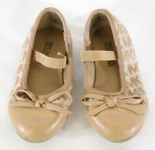 Girls Toddler Michael Kors Shoe Size 6 Tan TF
