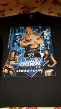 WWE SMACKDOWN 2005 Survivor Series Tour X Large T-Shirt Batista