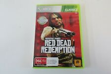 Red Dead Redemption Xbox 360 Game USED PAL Region