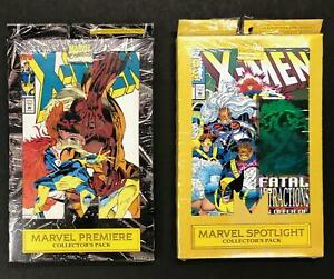 Marvel Premiere & Marvel Spotlight Collector's Packs - X-men 7 Sealed Comics