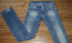 JAPAN RAGS LTC  Jeans pour Femme W 28 - L 32 Taille Fr 38 (Réf #O148)