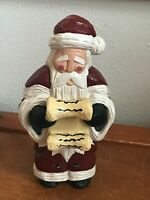 Sampson Signed & Numbered #0035 Carved Resin Ludwig Santa Claus Christmas