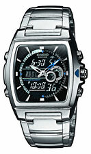 Casio reloj hombre edifice, acero inoxidable 10bar impermeable, efa-120d -1 avef