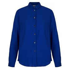 Yumi Blue Long Sleeve Shirt Ladies UK Size 14 - Box65 11 K