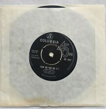 "Gerry and The Pacemakers - How Do You Do It ? Columbia Records 7"" Single DB 4987"