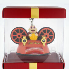 Disney Park Pack Subscription Mr Toad's Wild Ride Ear Hat Christmas Ornament NIB