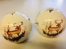 Windlichter Hirsch aus Keramik *10 Stck*