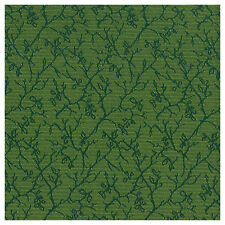 Devine Dainty Leaf Green Flat Woven Crypton Upholstery Fabric 0649605