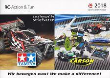 Katalog Tamiya & Carson Neuheiten 2018 Spielwarenmesse
