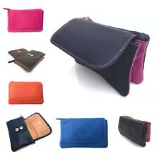 Small Leather Golunski Zen 22 Soft Leather Coin Purse in 14 VARIOUS COLOURS