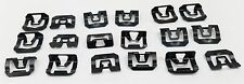 MAZDA R100 RX2 CAPELLA 808 RX3 RX4 929 323 RX5 121 STEEL WINDSCREEN TRIM CLIPS
