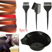4Pcs/Set Hair Coloring Brush Bleaching Dye Kit Salon Beauty Hair Coloring Set