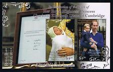 Aitutaki 2015 Royal Baby Charlotte Postage Stamp Souvenir Sheet Issue