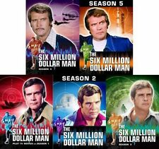 SIX MILLION DOLLAR MAN COMPLETE SERIES Season 1 2 3 4 5 DVD Set Collection Show