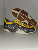 Helly Hansen Leather Yellow & Grey Ventilated Water Sport Shoes Womens Size 6