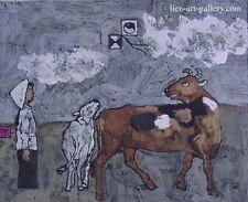 Summer Graphic painting Cuong van Nguyen  b1961  VUFA alumni &   paiters ...