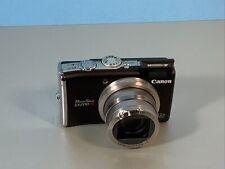 Canon PowerShot SX200 IS 12.1MP Digitalkamera - Schwarz